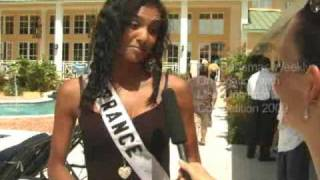 On Location interviews with Miss Universe 2009 competitors