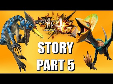 Let's Play Monster Hunter 4 Ultimate (4G) STORY 5 translated: Proving our worth & helping the helper