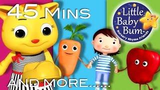 Growing Up Songs - Part 2 | Plus Lots More Nursery Rhymes | 45 Mins Compilation by LittleBabyBum!