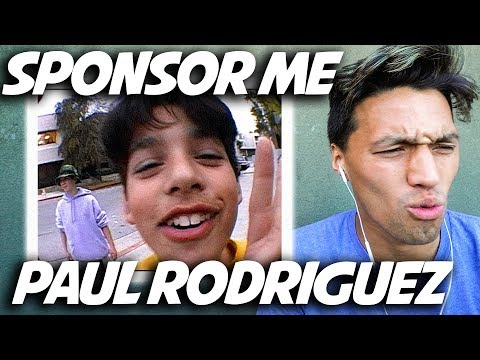PAUL RODRIGUEZ FIRST SPONSOR ME TAPE!! *Skate and Recreate Ep.1*