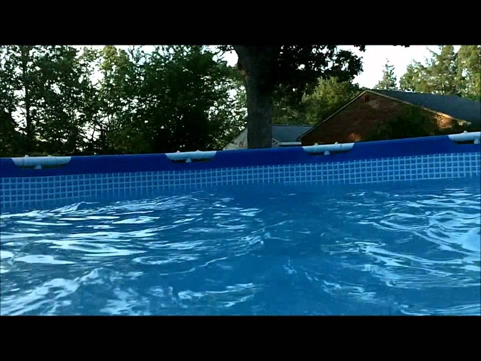 How to make a whirlpool in your own backyard pool youtube for Create your own pool