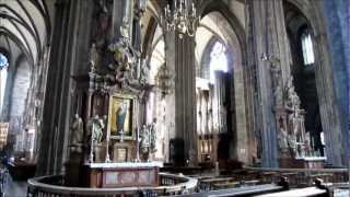 Vienna Austria, Stephansdom Interior HD Video Tour - St. Stephen