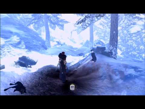 Fable III Gameplay: Combat in the Snow - E3 2010 Video