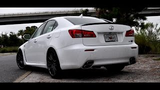 2014 Lexus IS-F Drive Review Part ONE in Charleston, SC with Car-Revs-Daily.com