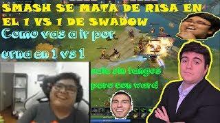 😆¨EZ 40$¨🤩SMASH SE MATA DE RISA EN 1VS1 DE SWADOW!!!