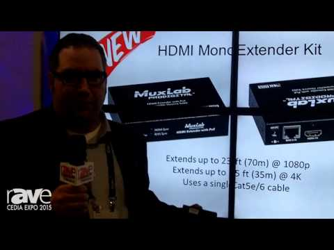CEDIA 2015: MuxLab Unveils Its Video Wall Over IP Soultion
