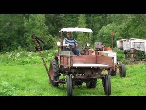 Сенокосилка на трактор т 16 своими руками