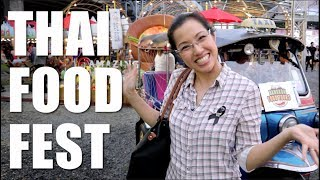 THAI FOOD FESTIVAL in Bangkok! (Amazing Thai Taste Festival) - Hot Thai Kitchen