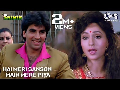 Hai Meri Sanson Main Mere Piya - Sainik | Akshay Kumar & Ashwini Bhave | Suhasini video