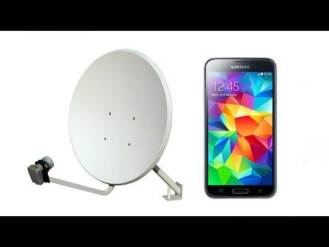 Настройка спутниковой антенны с помощью мобильного телефона