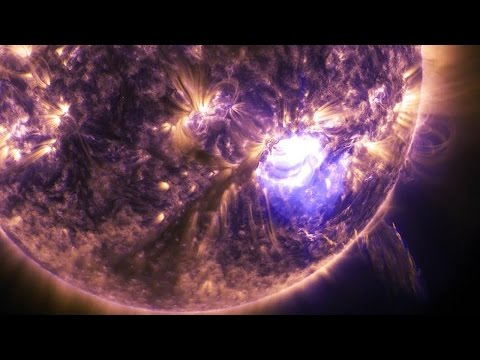 NASA | Holiday Lights On the Sun