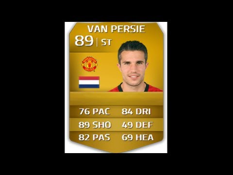 FIFA 14   Player Reviews : Robin Van Persie 89 (In Game Stats and Gameplay)