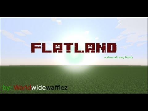 ♪Flatland♪ a Minecraft Parody of Payphone