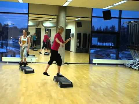 Step Aerobics with Alexandre Mallier