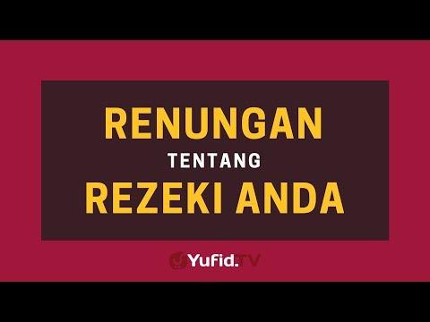 Renungan tentang Rezeki Anda– Poster Dakwah Yufid TV