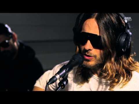 30 Seconds To Mars - Hurricane (live at Radio Nova, HD)