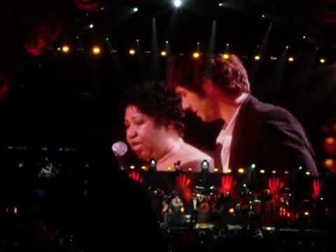 Aretha Franklin And Josh Groban You Raise Me Up