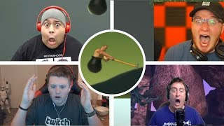 Gamers React to Getting Over it | Rage Compilation Part 2