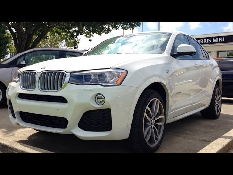 2015 BMW X4 xDrive28i M Sport Full Review. Start Up. Exhaust
