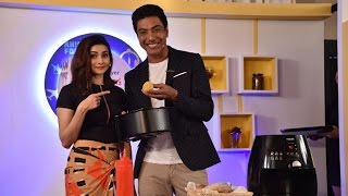 Prachi Desai & Chef Ranveer Brar Have Fun At The Launch Event Of  TGIF Season 3
