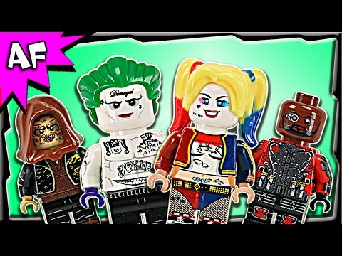 Custom Lego SUICIDE SQUAD Minifigures Collection Review