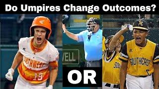 Did umpire error alter LLWS 2018 outcomes?