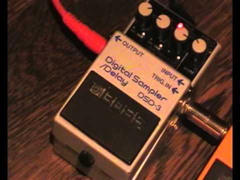 Boss DSD-3 Digital Sampler / Delay