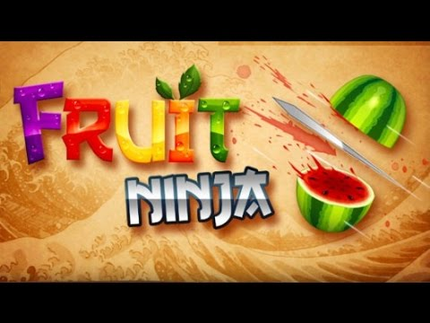 Видео - Fruit Ninja hack (взлом) от Tony_Morreti CHEATS * BUGS.