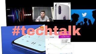 #techtalk 13 updates on triple camera iPhone, Skype group calling , vivo iqoo , mi7, #BeingShabzzz
