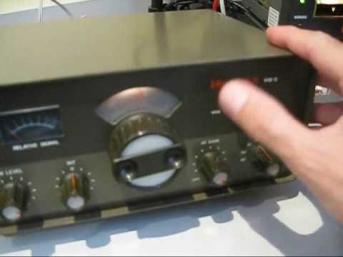 A classic QRP rig: The Heathkit hw 9 in action