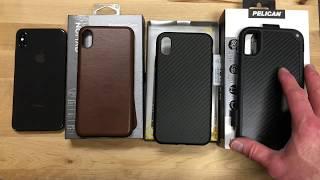 iPhone XS Max Cases - Nomad vs RhinoShield vs Pelican