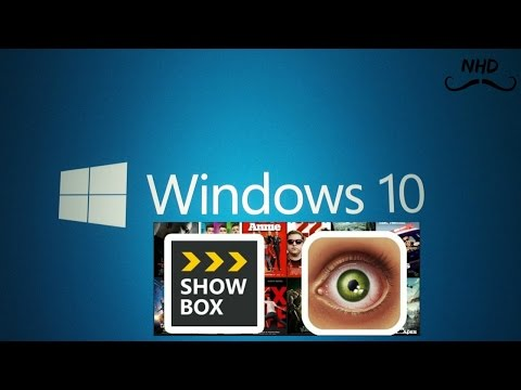 How to download and install showbox on pc and laptop 2015 (windows 10.8.7)
