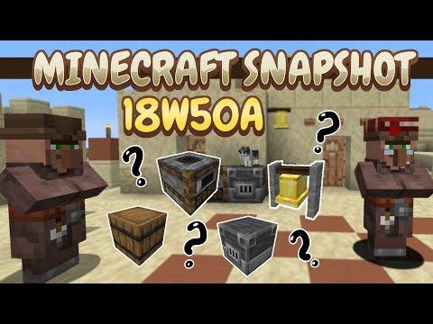 Minecraft Review 18w50a [LA ÚLTIMA SNAPSHOT DE 2018]