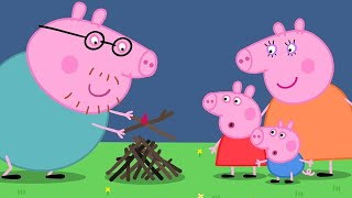 Peppa Pig English Episodes | Campfire Peppa Pig Official