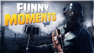 Battlefield 1 - Funny Moments! Sea Horse, Blimps!