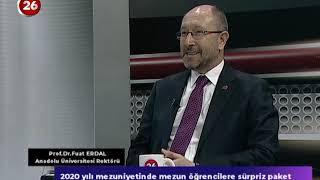 26. Gün | Anadolu Üniversitesi Rektörü Prof.Dr.Fuat Erdal