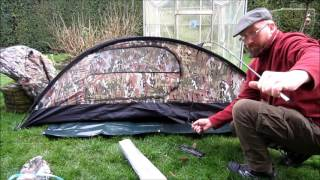 Mil-Tec recom one man tent review