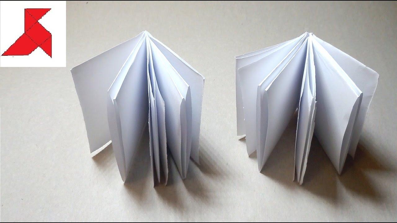 Как из 1 листа бумаги сделать блокнот своими руками 26