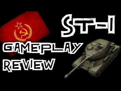 World of Tanks    ST-I - Gameplay Review