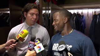 Adeiny Hechavarría reacts to signing with Atlanta Braves