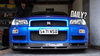 Do I Daily my R34 Skyline GTR?
