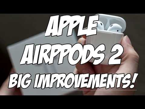 APPLE AIRPODS 2 REVIEW | Incoming With Two Big Improvements
