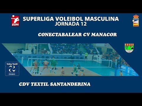 Conectabalear CV Manacor - Cdv Textil Santanderina SVM 18-19