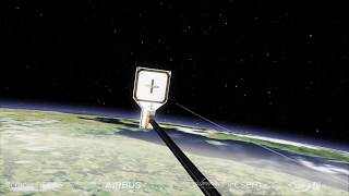 RemoveDEBRIS Mission - Successfully Harpoons Space Junk