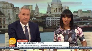 [HD] Good Morning Britain with Mark Austin: Wednesday 6 April 2016