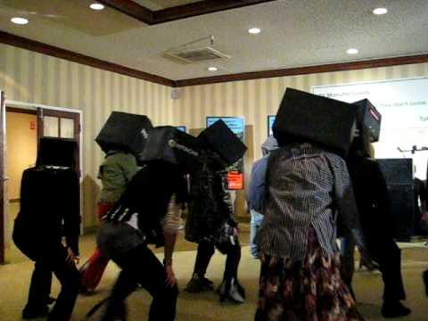 TV Zombies Dance at CES 2009