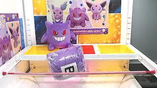 Got [Pokemon - Big Rolling Round Plushy Colorful ~Nidoran♂, Gengar, Espeon~ B]!!