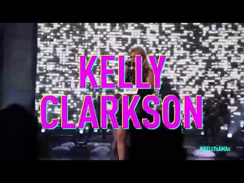 Kelly Clarkson  American Music Awards Announcement
