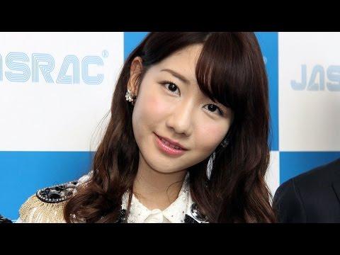 AKB48柏木由紀「最後に王道アイドルソングを歌いたい」「2015年 JASRAC賞」贈呈式2