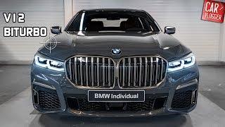 INSIDE the NEW BMW M760Li xDrive 2019 | Interior Exterior DETAILS w/ V12 REVS